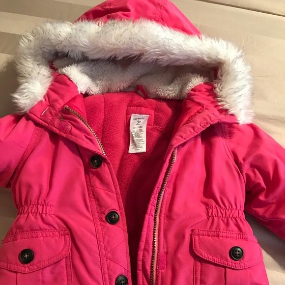 260d1b674 Carters winter coat with fur hood